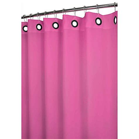 large grommet shower curtain buy park b smith 174 dorset pink large grommet 72 inch x 72