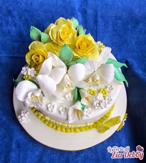 torte decorate con fiori torta con fiori per una ragazza di 94 anni le torte di