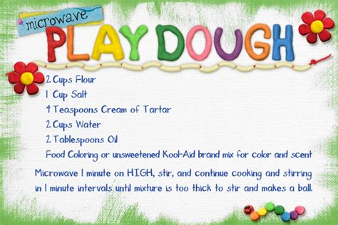 microwave playdough april martell scrap girls digital