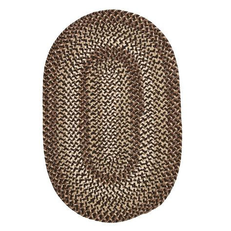 home depot braided rugs colonial mills belmont grain 10 ft x 13 ft oval braided area rug bl99r120x156 the home depot