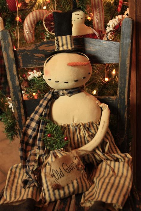primitive christmas crafts to make 52 best primitive snowman dolls images on snowman snowmen and ornaments