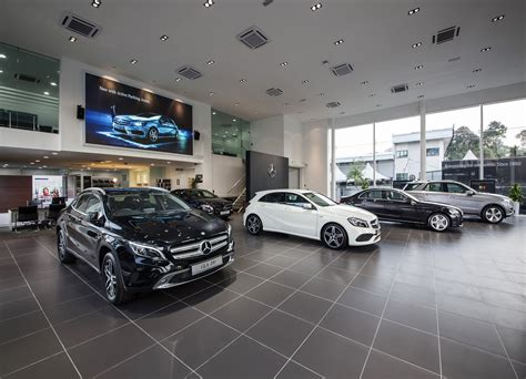 superior motor vehicle services mercedes city service opens in kuala lumpur