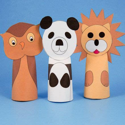 How Do You Make A Paper Puppet - paper cone finger puppets finger puppets puppet and finger