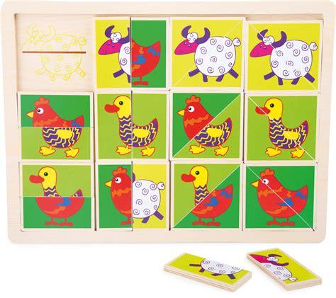 cornice puzzle puzzle con cornice animali divertenti