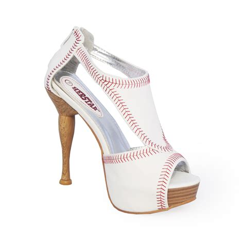 Herstar women s baseball high heel from herstar shoes