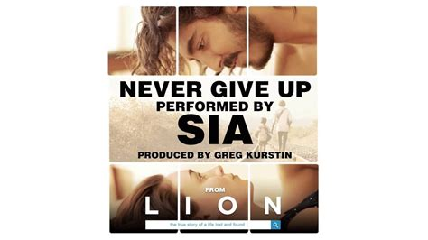 lion film mp3 download sia never give up from the lion soundtrack official