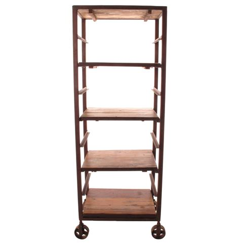 Bakers Rack Wood by Buttermere Reclaimed Wood Baker S Rack Display Bookcase Kathy Kuo Home