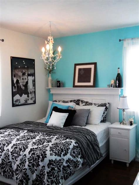 Blue Black And White Bedroom | bedroom 8 fresh and cozy tiffany blue bedroom ideas