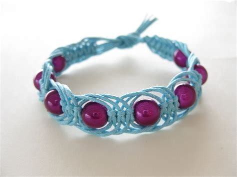 Simple Macrame Bracelet Patterns - 180 best macram 233 bracelet images on macrame