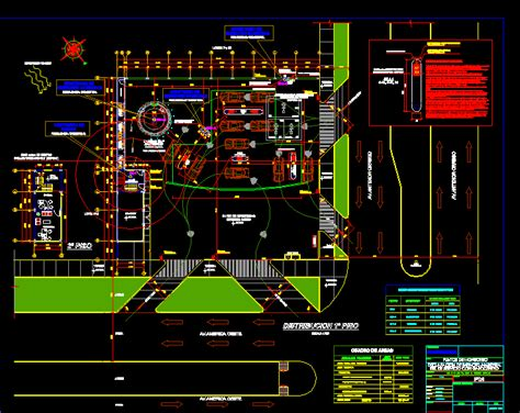 service station dwg block  autocad designs cad