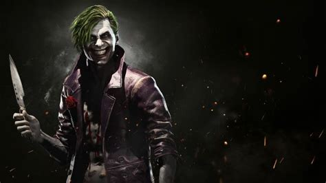 imagenes de joker injustice injustice 2 joker trailer shows off the clown prince of crime