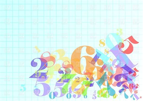background design numbers arithmetic abstract background with numbers 27604