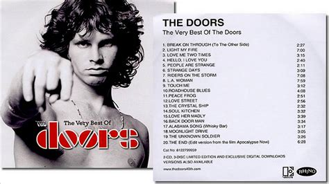 the doors best of album the door the best of the doors album