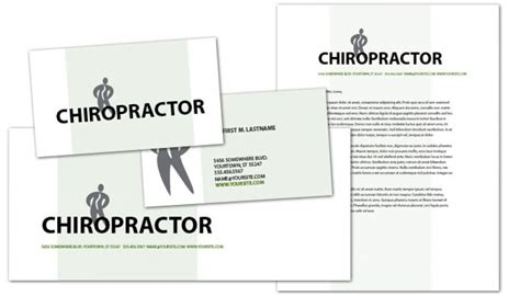 chiropractic business cards templates business card template for chiropractic clinic