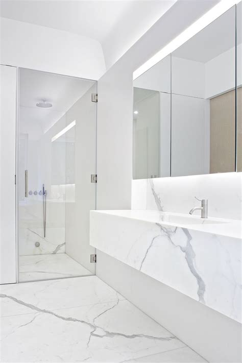 calacatta bathroom white calacatta marble bathroom interior templer