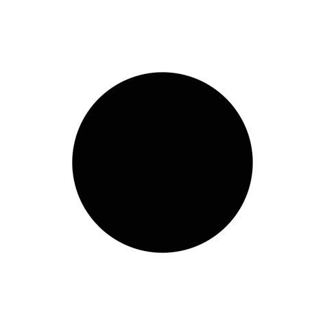 Circle Black black circle resize by 10binary on deviantart