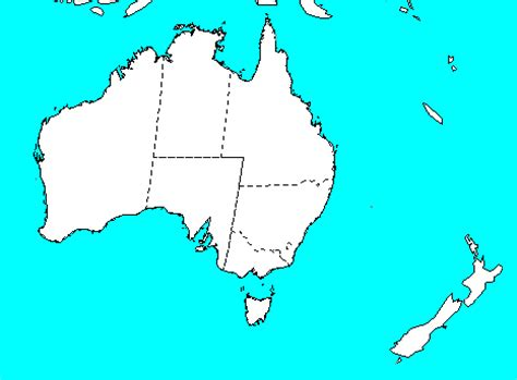 physical map of australia and new zealand map quiz australia new zealand
