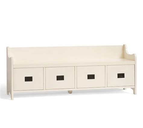 pottery barn shoe bench storage bench pottery barn for the home pinterest