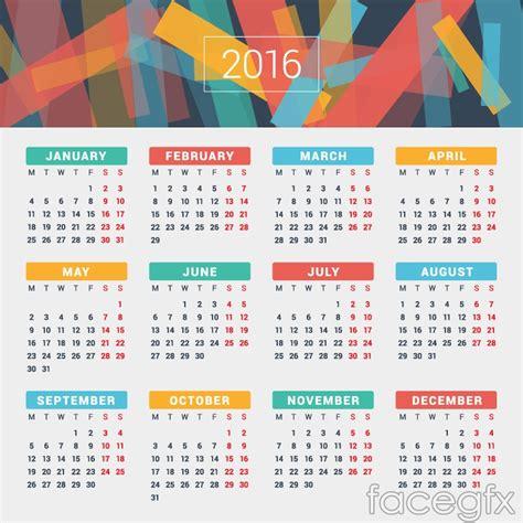 design free calendar online 15 best calendar 2016 vector templates designmaz