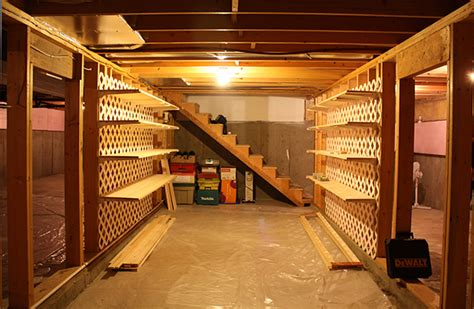 storage shelves for basement small basement ideas on a budget easy diy or cheap decor