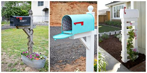 how to decorate a square brick mailbox for christmas 8 easy diy mailbox designs decorative mailbox ideas