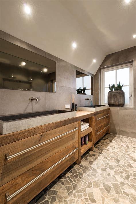 natuursteen badkamermeubel restylexl badkamermeubel eiken hardsteen product in