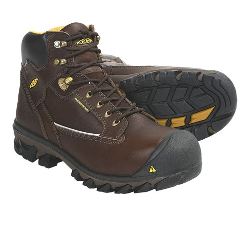 keen composite toe shoes keen portland work boots waterproof composite toe for