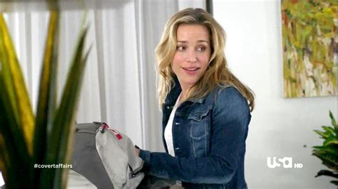 rogers commercial actress mom piper perabo in covert affairs season 3 episode 2 zimbio