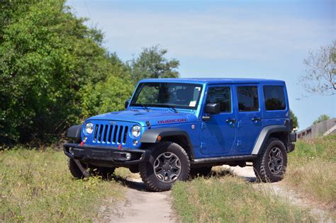 jeep driving 2016 jeep wrangler unlimited rubicon test drive review
