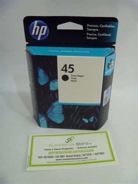 Tinta Hp 45a Black Original tinta hp plotter 45a delivery facturado u s 58 00 en mercado libre