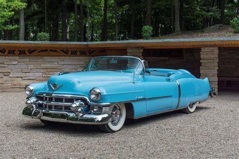 1953 Cadillac Convertible by 1953 Cadillac Eldorado Convertible 448 Of 532 Built