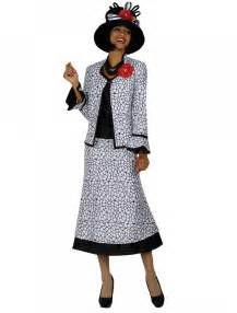 women church suits black white g4843 not just church