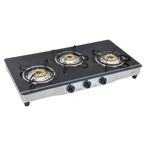 3 Burner Glass Cooktop buy advanta spark 3 burner glass cooktop black at best price in india on naaptol