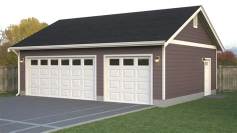 4 Car Garage Plans by Impressive Custom Garage Plans 3 4 Car Garage With