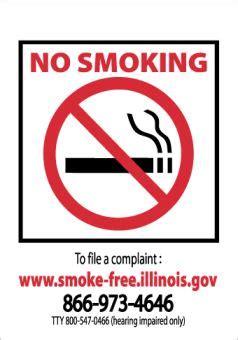 no smoking sign illinois trident supply llc industrial marine safety supply