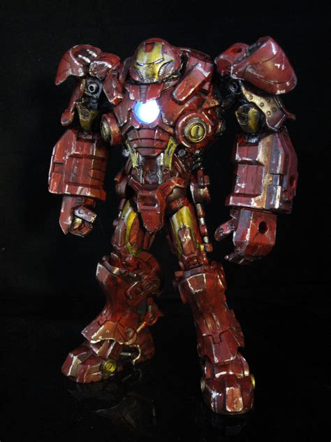 Iron Buster featured customs superman gi joe dc and more