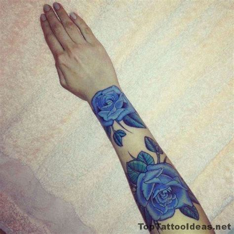 dark blue rose tattoo 1000 ideas about blue tattoos on black