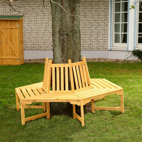 circular tree bench round circular wooden tree bench outdoor garden furniture