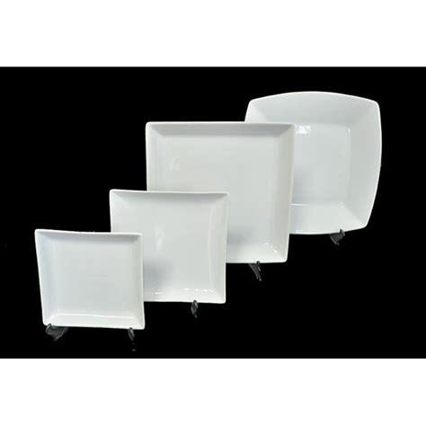 platos cuadrados de porcelana astesiano alquiler de vajilla platos cuadrados