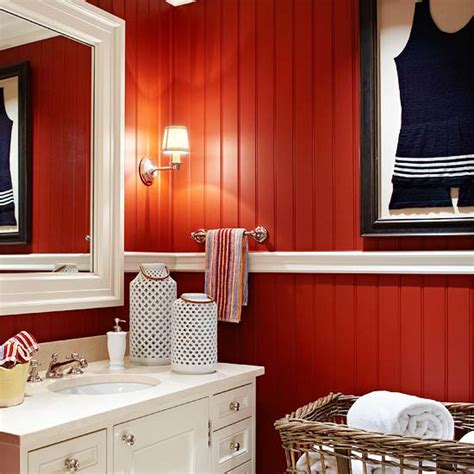 red wall bathroom look at these red walls red ostelinda