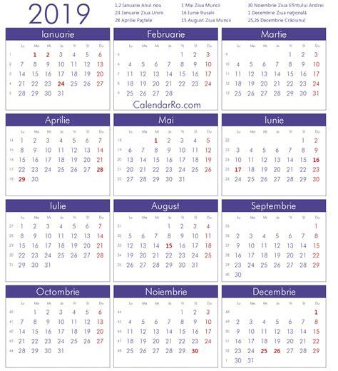 calendar  romanesc qualads