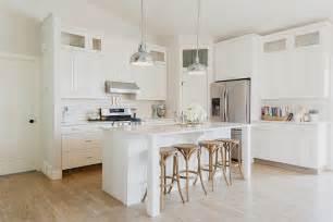Light gray quartz countertop transitional kitchen hgtv