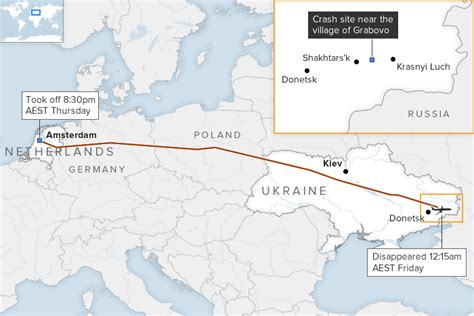 map ukraine separatist area july 2015 mh17 timeline of a disaster abc news australian