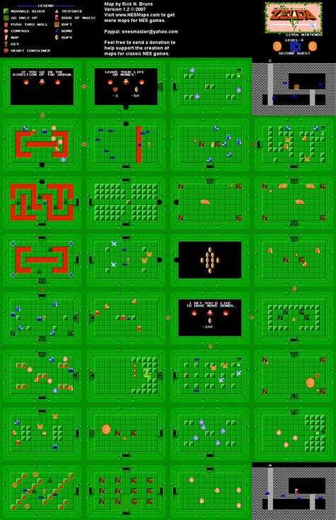 legend of zelda map quest 2 overworld zelda nes map picture to pin on pinterest pinsdaddy