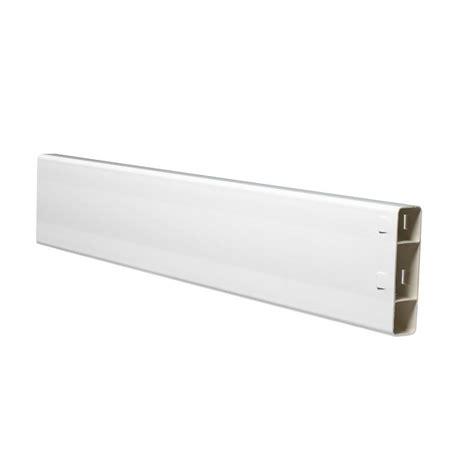 snapfence 3 ft x 8 ft white vinyl fence starter kit with