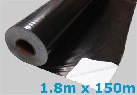 black white mulching polythene