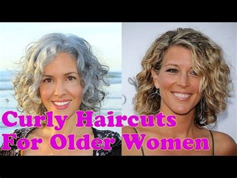 curly hairstyles for older women over 40 to 60 years