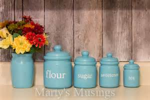 Vintage Canisters For Kitchen by Frugal Tips For A Diy Kitchen Makeover