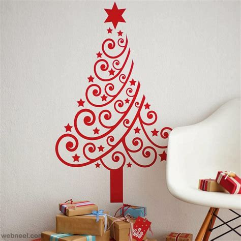 classic style christmas wall decor