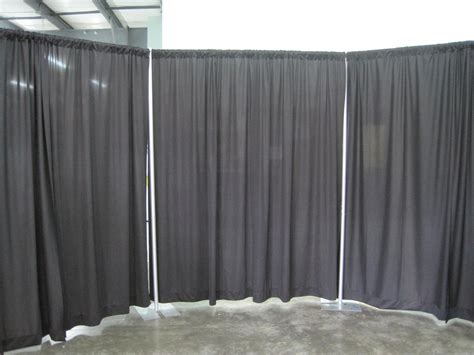 piping drapes pipe and drape room knight s rental making your event